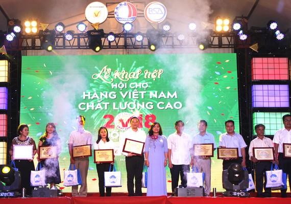 Vedan Việt Nam đạt tốp 10 sản phẩm  được người tiêu dùng bình chọn năm 2018