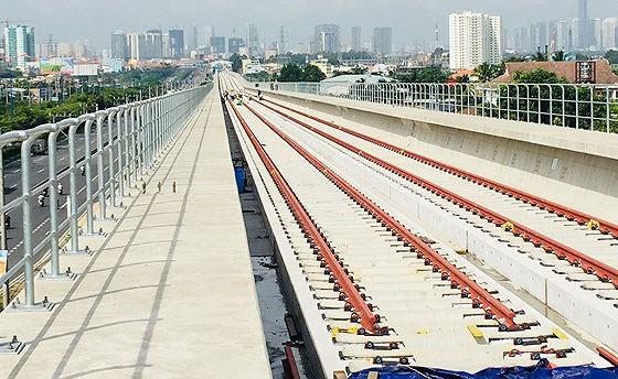 Tuyến metro số 1 Bến Thành - Suối Tiên dự kiến hoàn thành và đưa vào khai thác, sử dụng vào năm 2020