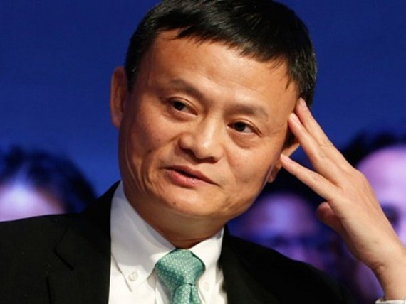 Chủ tịch Alibaba Jack Ma. Ảnh: Reuters