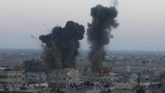 Tình hình trên Dải Gaza đang xấu đi nhanh chóng     ẢNH:  REUTER