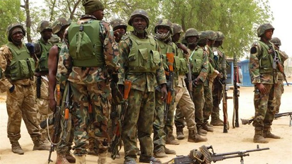 Quân đội Nigeria. (Nguồn: Aljazeera)
