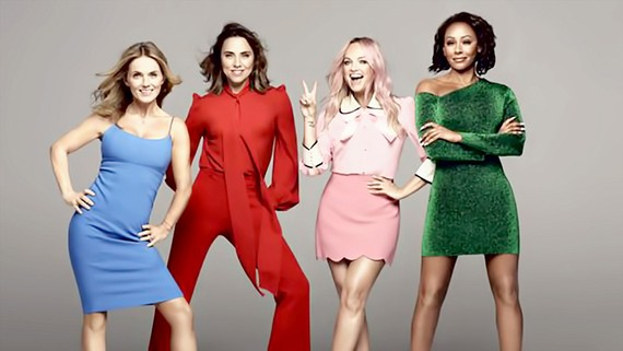 Spice Girls tái hợp