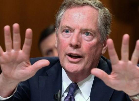 Đại diện Thương mại Mỹ Robert Lighthizer. (Nguồn: Reuters)
