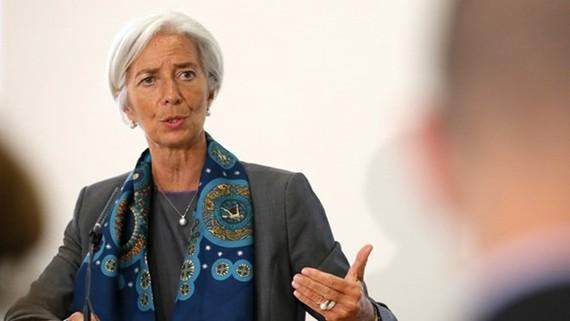 Tổng giám đốc Quỹ Tiền tệ quốc tế (IMF) Christine Lagarde. (Nguồn: Reuters)