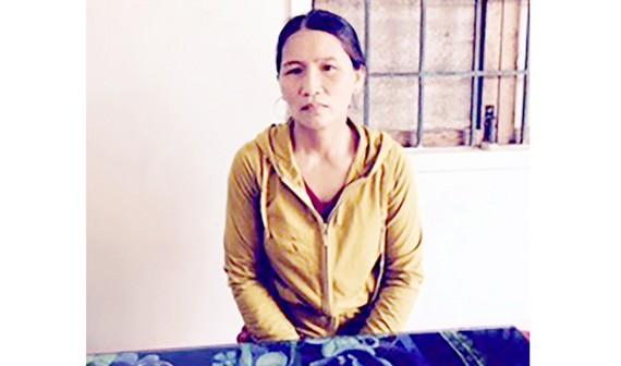 Chị Nguyễn Thị Tý, mẹ sinh viên Bích Nga