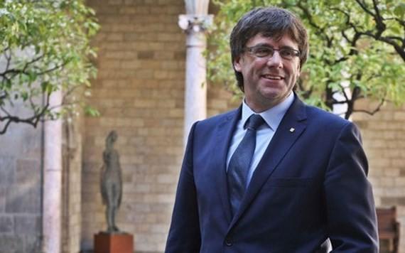 Cựu Thủ hiến vùng Catalonia Carles Puigdemont. Ảnh: Catalangovernment