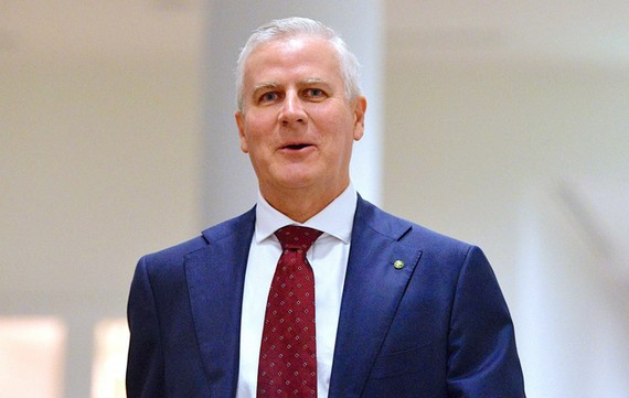Ông Michael McCormack đã được bầu làm lãnh đạo mới của đảng Quốc gia và giữ chức Phó Thủ tướng Australia. Ảnh: Reuters