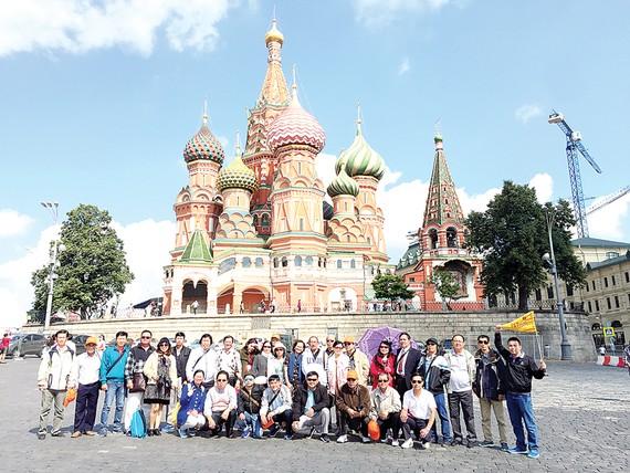 Tour mùa thu vàng nước Nga giảm đến 5 triệu đồng