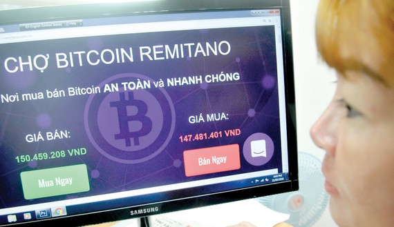 Tiền ảo chưa được chấp nhận tại Việt Nam. Ảnh: THÀNH TRÍ