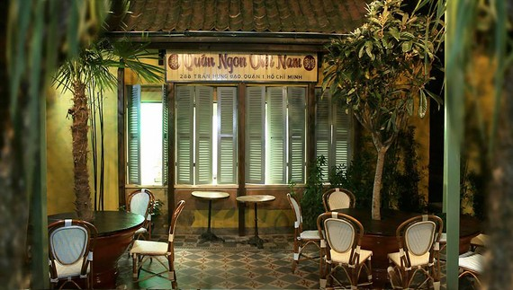 Một góc quán Coco Tang