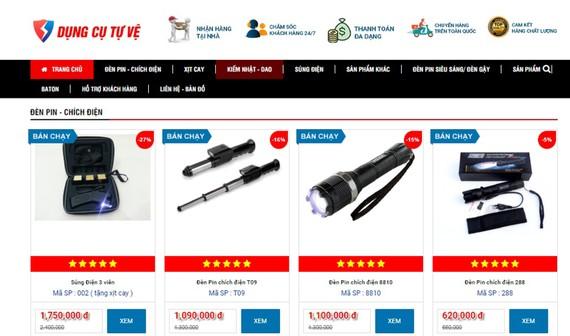 Các công cụ hỗ trợ được rao bán công khai trên mạng
