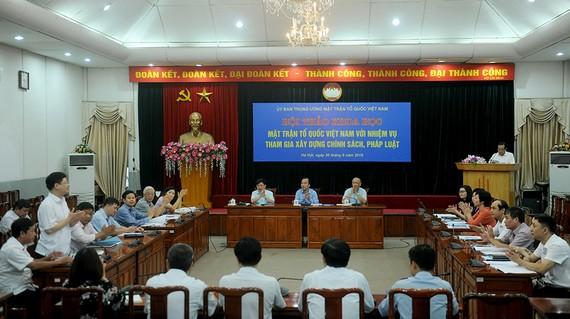 Quang cảnh hội thảo. Ảnh: Báo điện tử Đảng Cộng sản Việt Nam