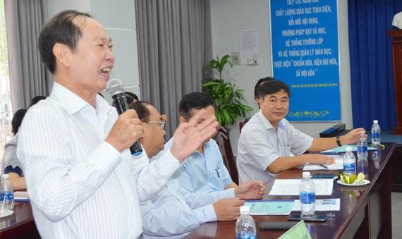 PGS-TS Nguyễn Minh Kiều cho rằng cần mạnh dạn đào tạo chương trình TS định hướng ứng dụng