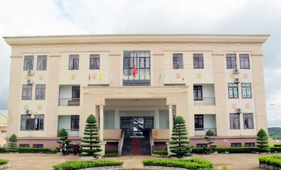 Trụ sở Sở Văn hóa, Thể thao và Du lịch tỉnh Đắk Nông nơi bà Duyên công tác.