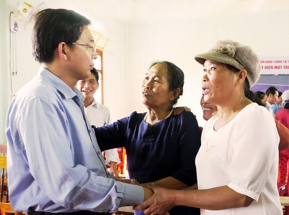 Chủ tịch UBND tỉnh Bình Định Hồ Quốc Dũng cam kết với người dân sẽ chịu trách nhiệm về dự án