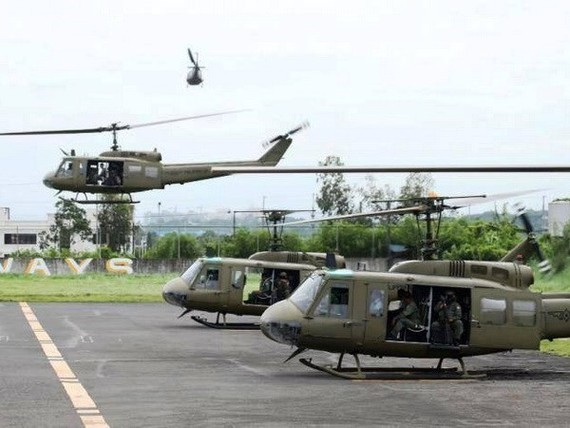 Philippine helicopters (Photo: canadianinquirer)