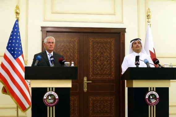 The US and Qatar announced they have signed an agreement on fighting terrorism, at a time when the emirate is facing sanctions from neighbouring countries which accuse it of supporting extremism. — AFP/VNA