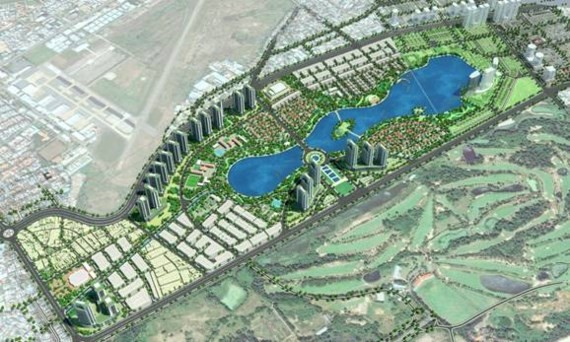 Vung Tau New Urban Area-Central Park to be built