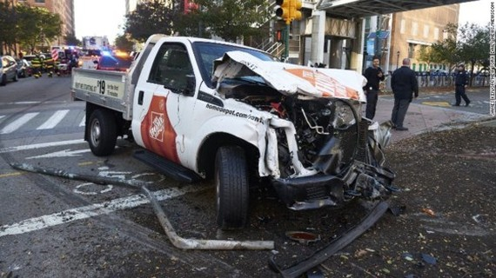Eight dead in suspected terrorist truck attack on Manhattan bike path