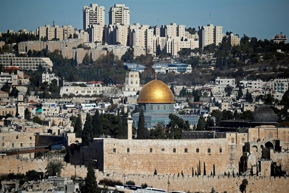 The status of Jerusalem (photo) is one of the most contentious issues of the long-running Israeli-Palestinian conflict. — AFP Photo