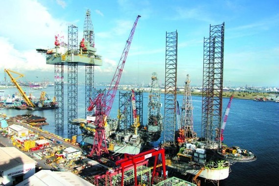 An oil rig of Keppel (Source: todayonline.com)
