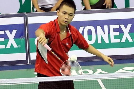 Player Cao Cuong -Photo SGGP