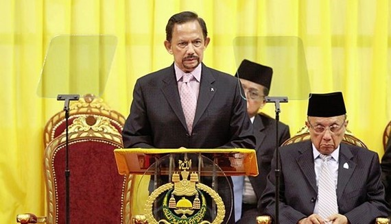 Brunei's Sultan Haji Hassanal Bolkiah (Source: theborneopost)