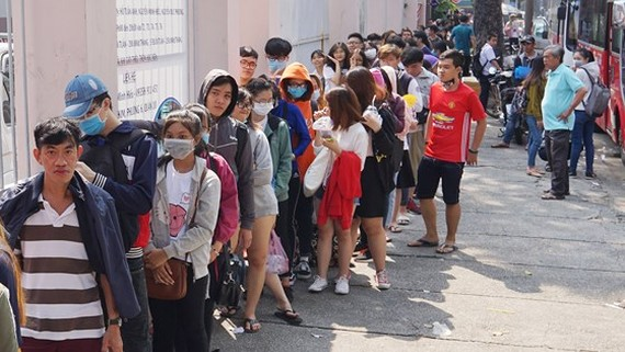 Fans queue up for U23 meeting tickets