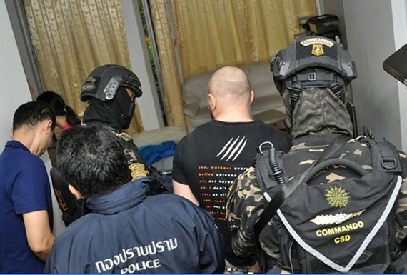 Sergey Medvedev arrested by Thai police (Photo: rappler.com)