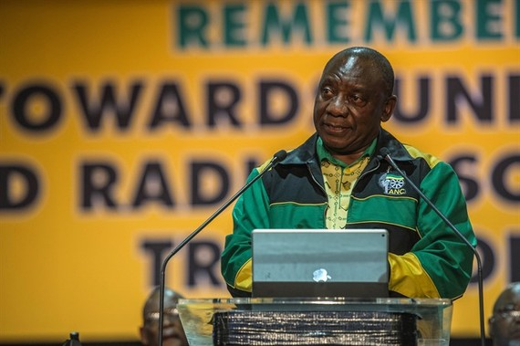 S.Africa's new president vows to tackle state corruption
