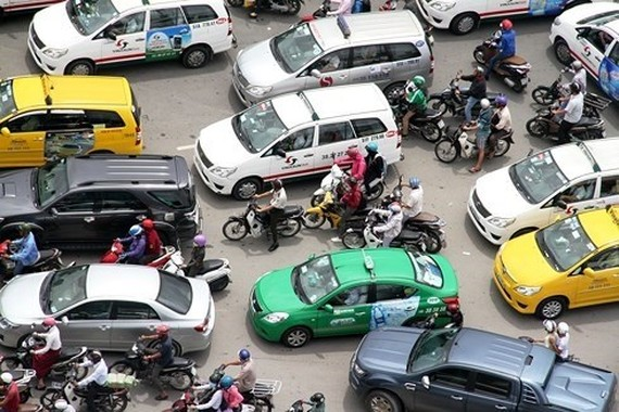 Grab's acquisition of Uber opens the door for Vietnamese businesses to enter the ride-sharing market. (Source: vov.vn )