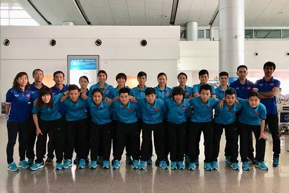 The Vietnam Women's Futsal team