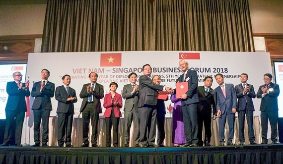 C.T Group & Singapore enterprise sign cooperation development