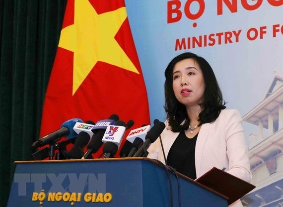 Foreign Ministry Spokesperson Lê Thị Thu Hằng said at a regular press briefing on May 17. VNS