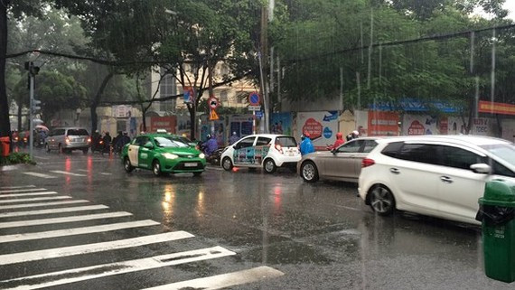 Heavy rains are forecast to cover over the northwestern region -Photo: SGGP