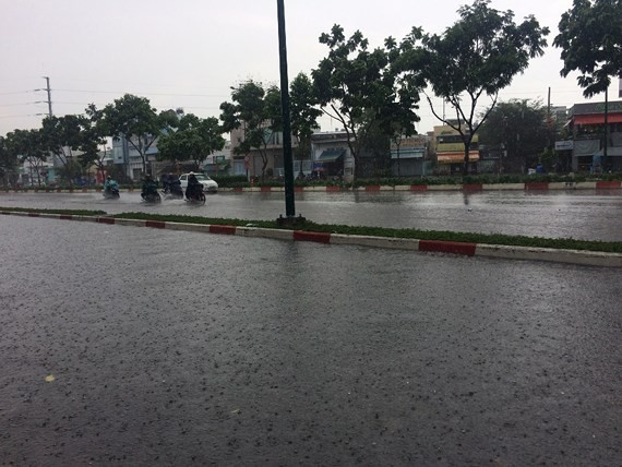 Southern experiences rains