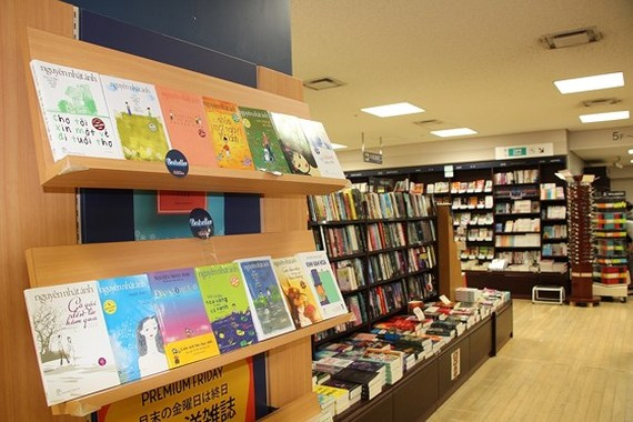 First-ever Vnese book stall in Japan opened