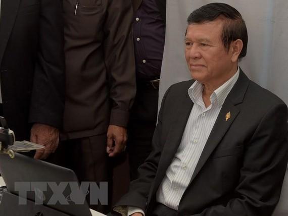 Cambodia's former opposition leader denied bail again