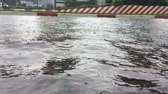 Central & central highlands region sees heavy rains