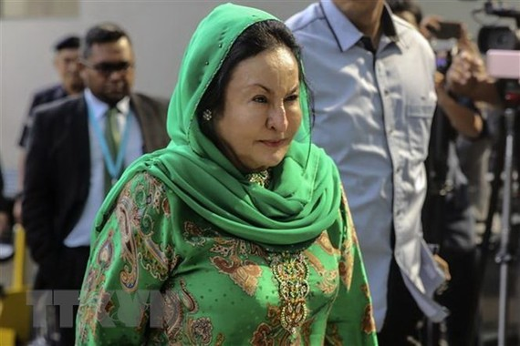 Wife of former Malaysian PM arrested