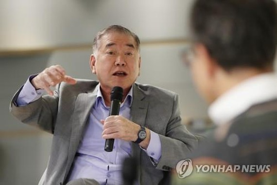 This file photo shows Moon Chung-in, a special security policy adviser to President Moon Jae-in. (Yonhap)