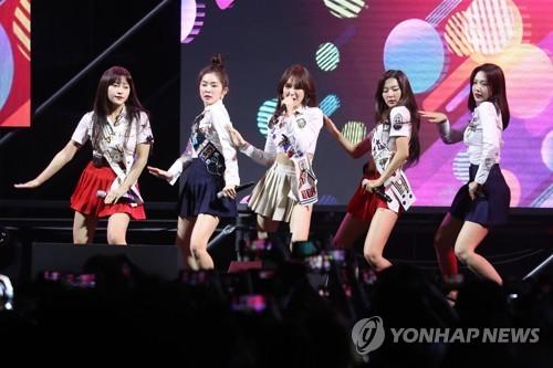 Red Velvet unveil U.S. tour schedule in 2019