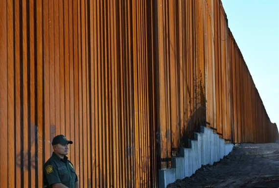 US President Donald Trump campaigned on a vow to clamp down on illegal immigration, including a signature promise to build a wall on the Mexican border. — AFP Photo