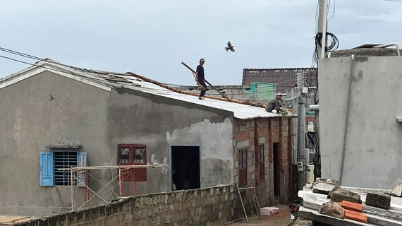Phu Quy Island District prepares for 9th typhoon