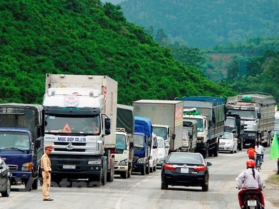 National Highway No.1 crosses Lang Son Province