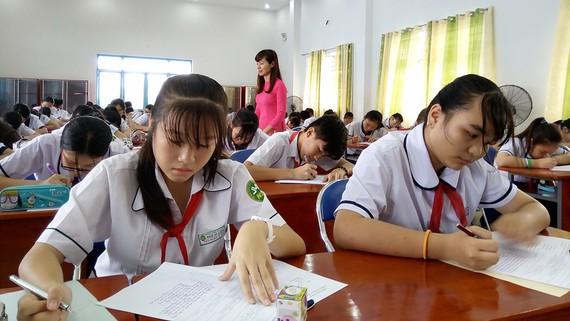 Thí sinh quận Tân Bình tại vòng thi cấp quận