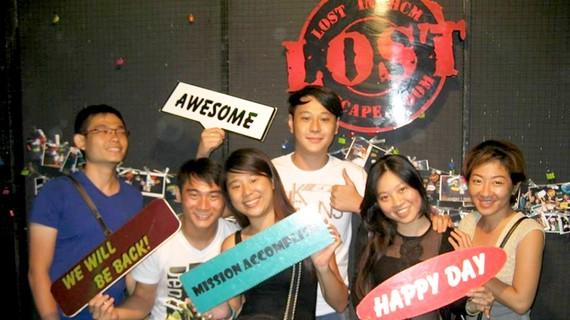 Giới trẻ Việt Nam hào hứng với Escape The Room. Nguồn: Internet