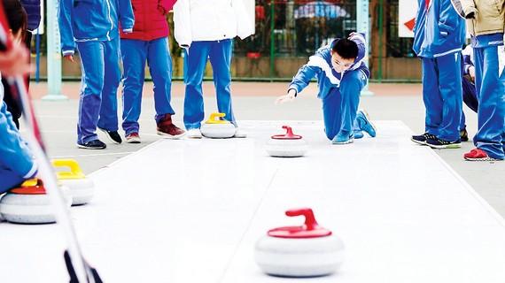 Trung Quốc giảng dạy về Thế vận hội mùa Đông