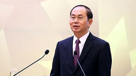 Chủ tịch nước Trần Đại Quang. Ảnh: VGP