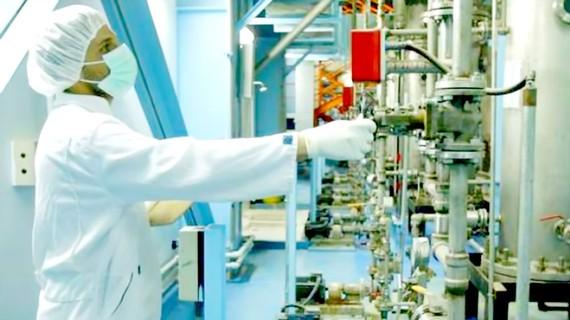 Một cơ sở hạt nhân tại Iran